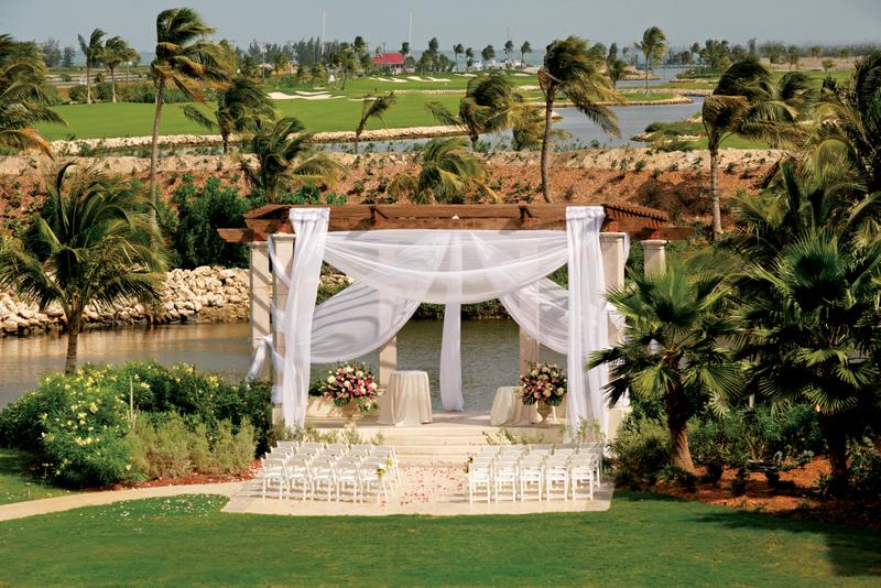 Weddings Abroad - Ritz Grand Cayman Wedding Gazebo - WeddingsAbroad.com