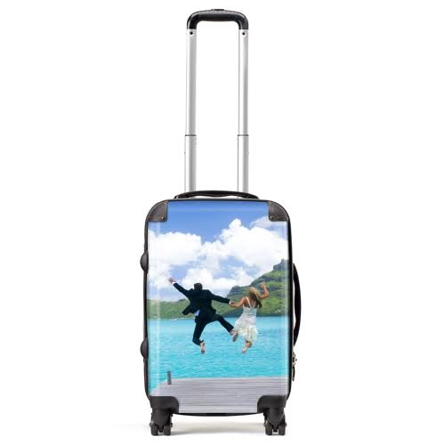 Personalised Luggage from WeddingsAbroad.com