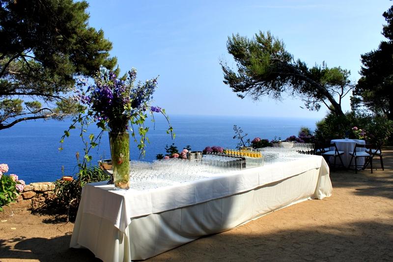 Clifftop Monastery 16th Century Destination Wedding Barcelona, Spain Weddings Abroad WeddingsAbroad.com