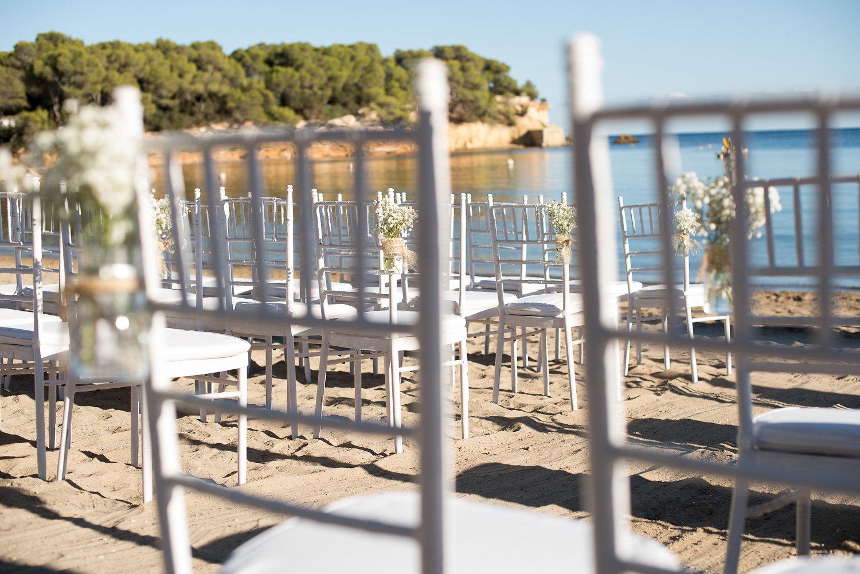 Pura Vida Wedding On The Beach - Destination Beach Wedding Ibiza - WeddingsAbroad.com
