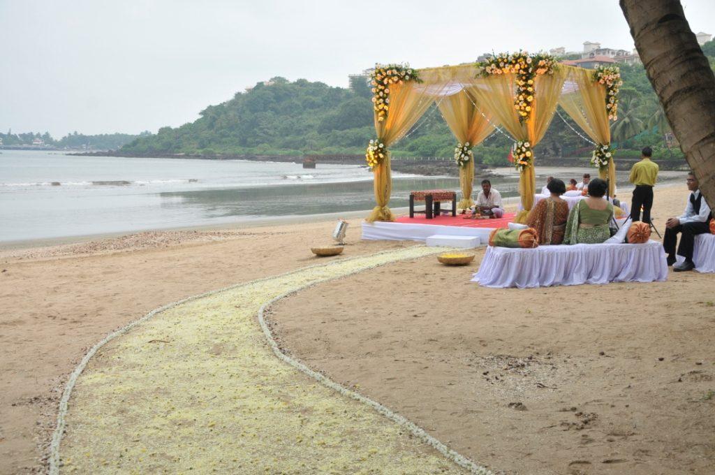 Zeebop By The Sea Destination Wedding Goa WeddingsAbroad.com