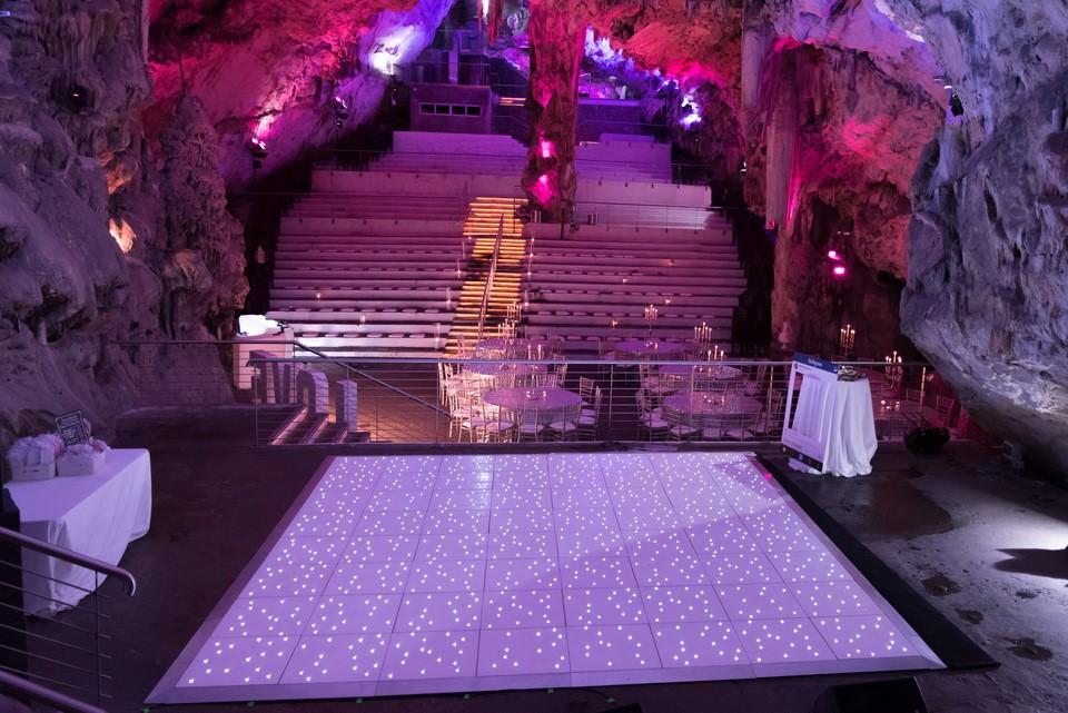 St Michael's Cave Gibraltar Wedding - Destination Wedding Gibraltar Weddings Abroad WeddingsAbroad.com