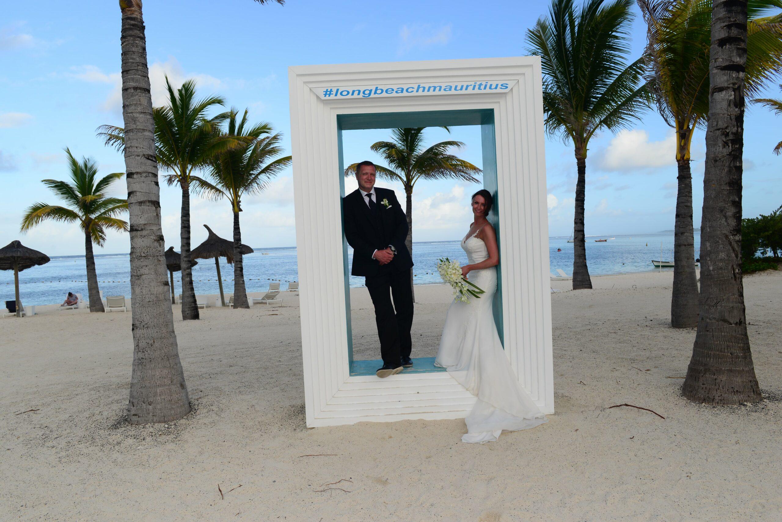 Steve Howey Karen Fletcher Mauritius 2017 WeddingsAbroad.com