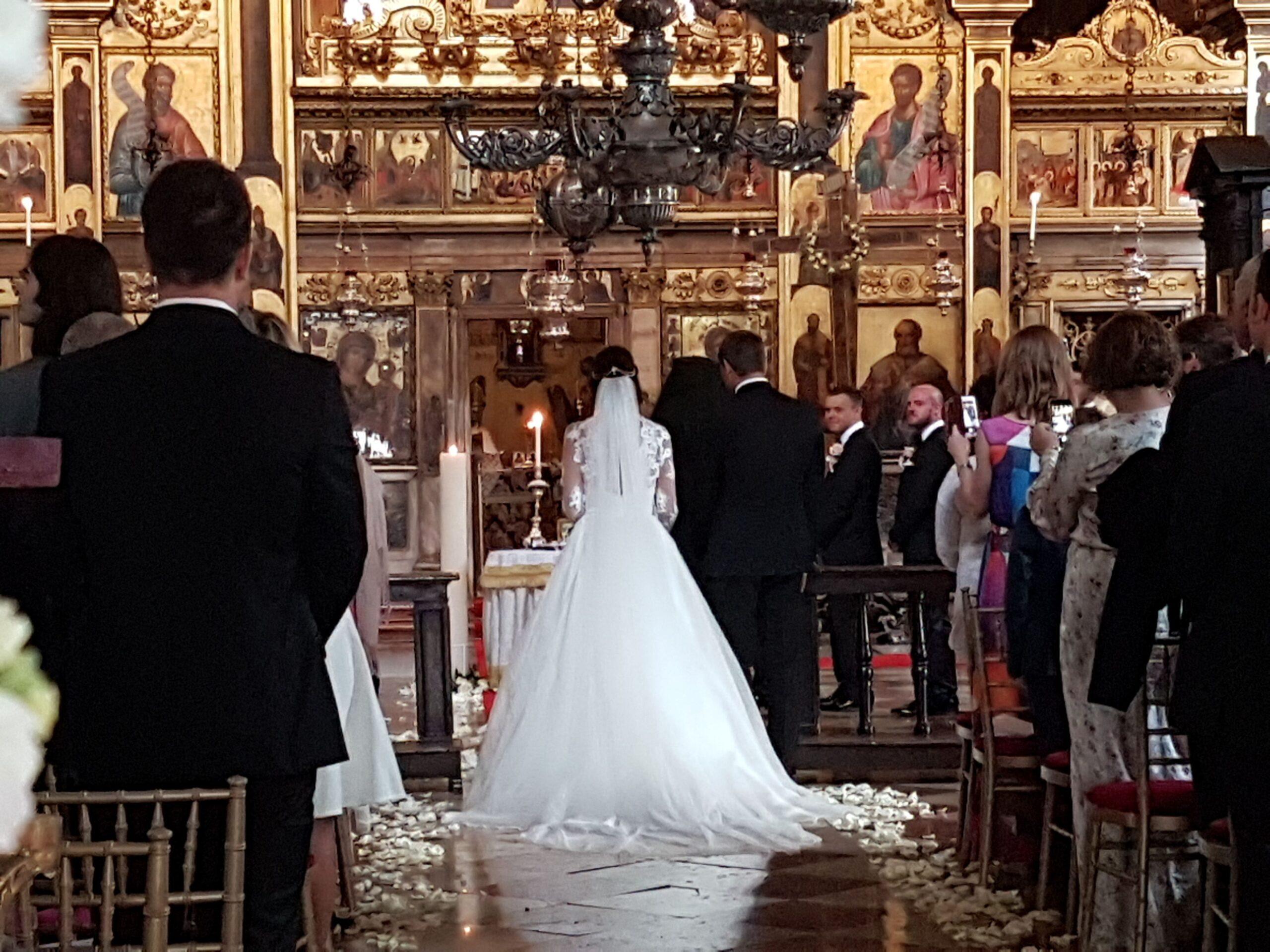 Orthodox Bride Wedding Abroad in Venice Italy WeddingsAbroad.com